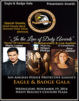 LAPD Badge and Honor Awards Gala